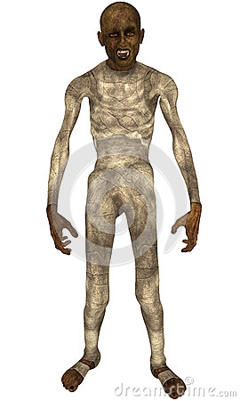 Ancient Mummy Standing