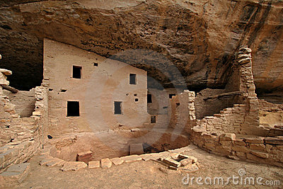 Ancient native American house