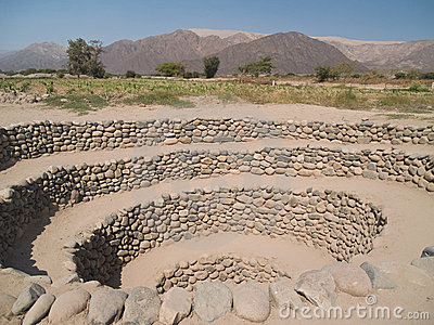 Ancient Nazca irrigation system