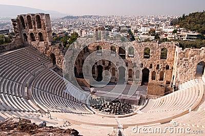 Ancient odeum