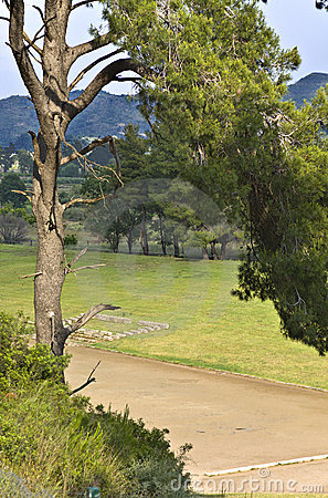 Ancient Olympia at Greece (the stadium)