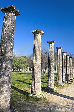 Ancient Olympic Site, Greece