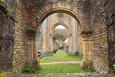 Ancient Orval Abbey