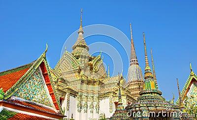 Ancient Pagoda Wat Arun Temple, Bangkok, Thailand