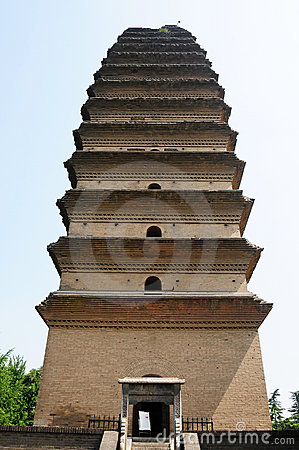 Ancient pagoda, Xian, China