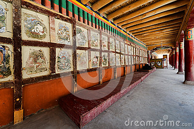 Ancient Paintings in Hemis
