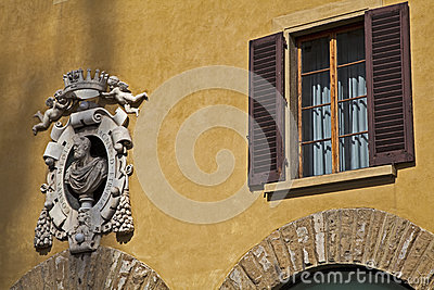 Ancient palace in florence