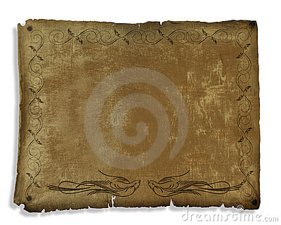 Ancient Parchment decorated