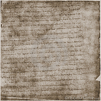 Ancient Parchment Text Paper