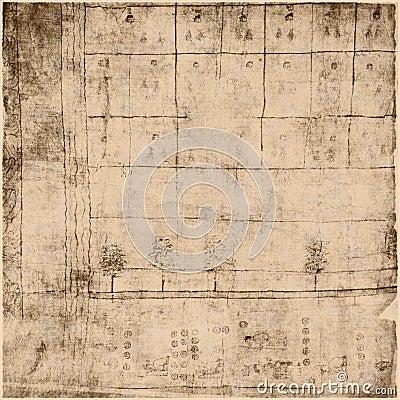 Ancient Parchment Text Paper