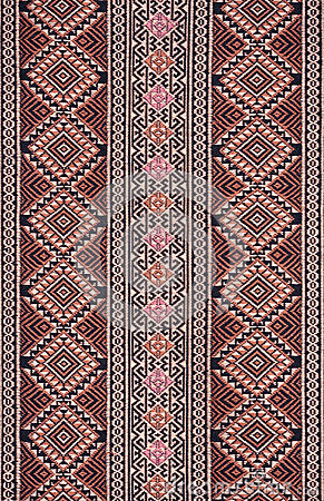 Ancient Pattern style Thai Cotton