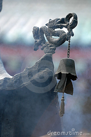 Free Ancient Pavilion Incense Burner Royalty Free Stock Photos - 1156008