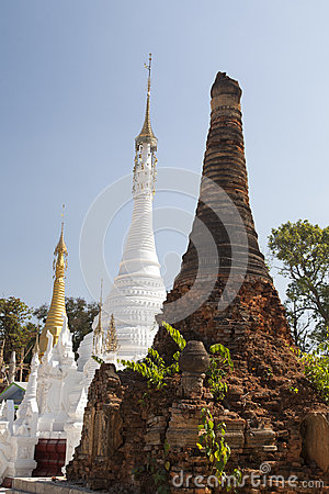 Old and New Buddhist Temples