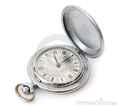 Free Ancient Pocket Watch Stock Image - 3668681