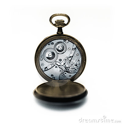 Free Ancient Pocket Watch Royalty Free Stock Photography - 9639467