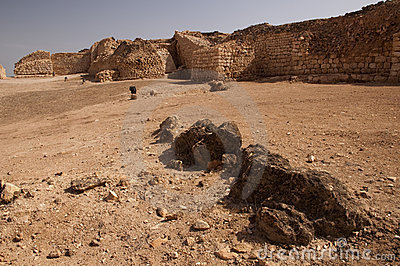 Ancient port Khor rawri, Oman
