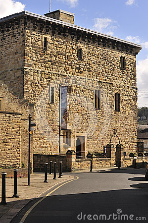 Ancient prison, Hexham, England