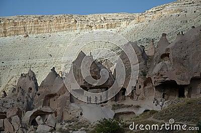 Ancient Quarter at Cappadocia Walley
