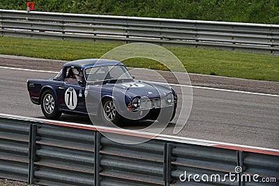 Ancient racing car Editorial Image