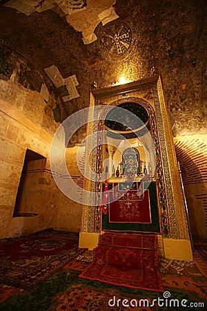 Ancient religious altar