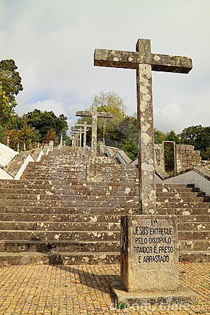 Ancient religious staircase