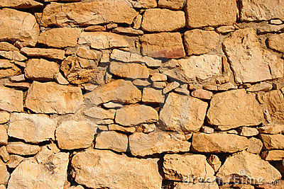 Ancient Rock Wall Background Image