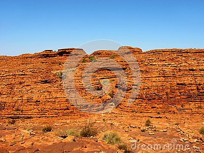 Outback Rock Wall