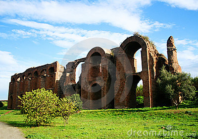 Ancient Roman Aqueduct Royalty Free Stock Image - Image: 7241176