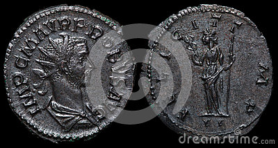 Ancient roman coin.