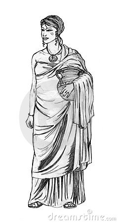 Ancient roman costume