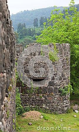 Ancient Roman Fortress. Gonio. Georgia.