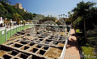 Ancient Roman Salt Factory