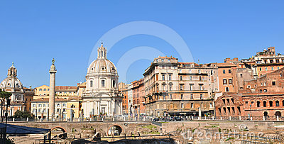 Ancient Rome Editorial Stock Photo