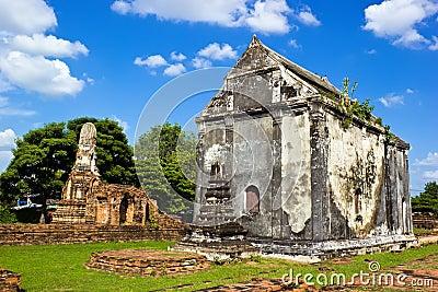 Ancient ruin monastery
