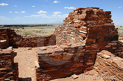 Ancient Ruins of Anasazi Tribe