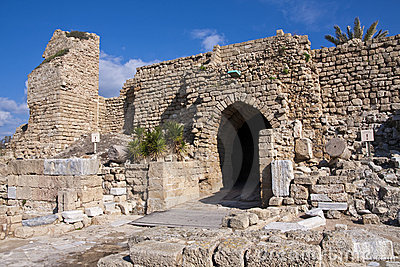 The Ancient Ruins of Caesarea