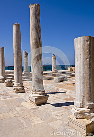 The Ancient Ruins of Caesarea