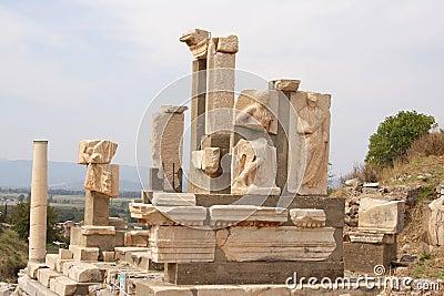 Ancient ruins, Epheusus, Turkey