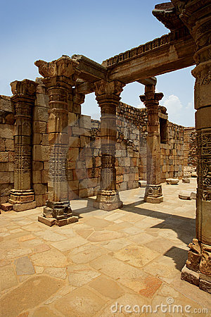 Ancient ruins in India