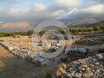 Ancient ruins Malia