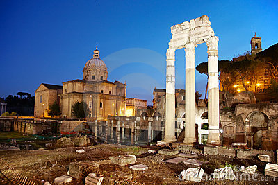 Ancient ruins - Rome