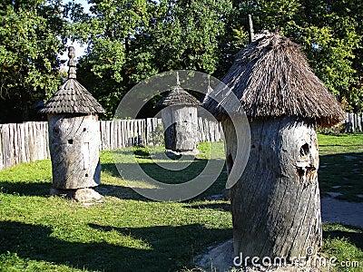 Ancient rural apiary