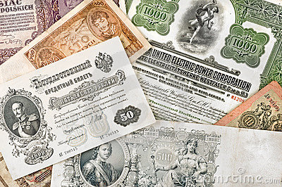 Ancient russian money