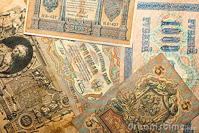 Ancient russian money