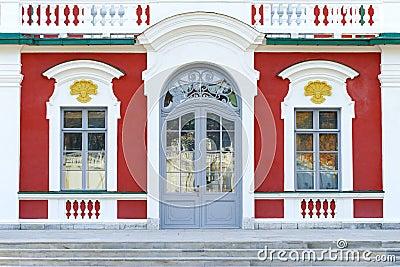 Ancient russian royal palace