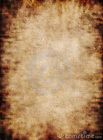 Ancient rustic grungy parchment paper texture background