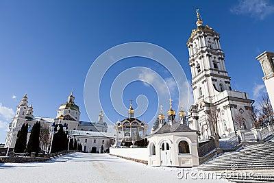 Ancient sacred Christian Pochaev Monastery