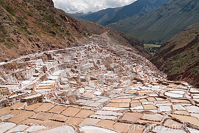 Ancient Salt basins used since