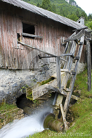 The ancient sawmill