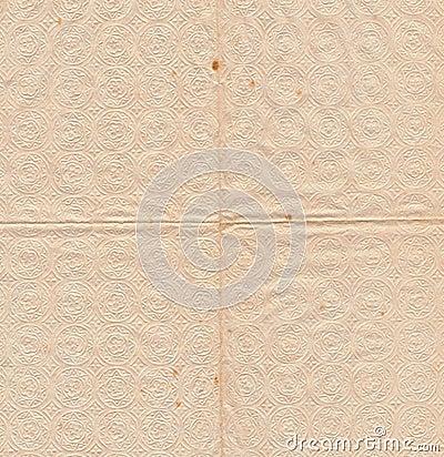 Ancient serviette paper background